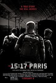 The 15:17 to Paris (2018) cover