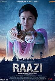 Raazi (2018) cover