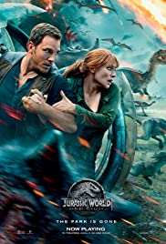 Jurassic World: Fallen Kingdom (2018) cover