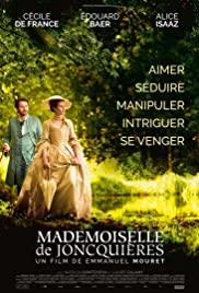 Mademoiselle de Joncquières (2018) cover