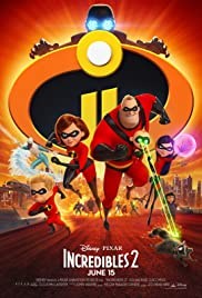Incredibles 2 (2018) cover