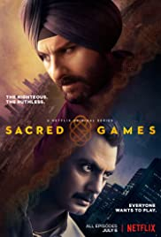 Sacred Games (2018) cover