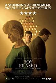 Boy Erased 2018 poster