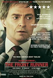 The Front Runner 2018 poster