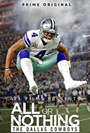 All or Nothing: The Dallas Cowboys (2018) cover