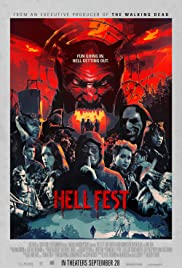 Hell Fest (2018) cover