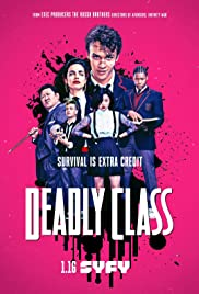 Deadly Class (2018) cover