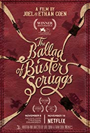 The Ballad of Buster Scruggs (2018) cover