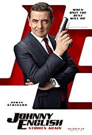 Johnny English Strikes Again (2018) cover
