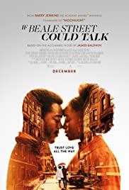 If Beale Street Could Talk 2018 poster