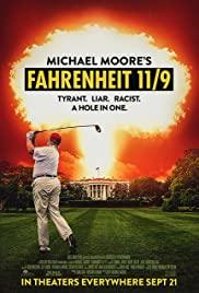 Fahrenheit 11/9 2018 poster